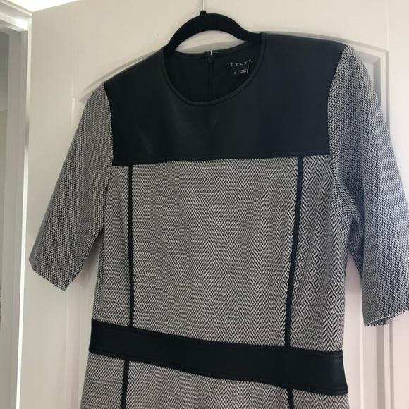 Theory Dresses & Skirts - Theory leather dress